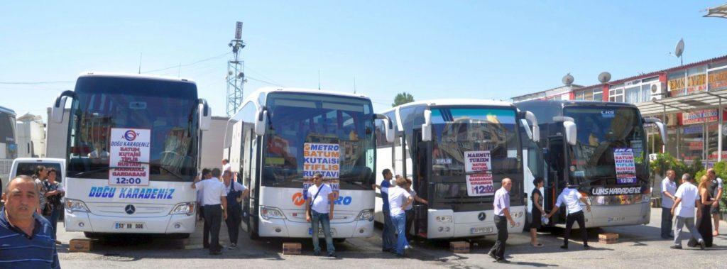 Z Instanbulu do Gruzie jede několik autobusových společností. Rozdíly mezi nimi jsou propastné.